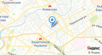 Харьковская областная клиническая наркологическая больница на карте