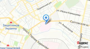 Харьковская областная клиническая психиатрическая больница №3 на карте