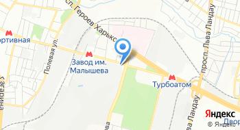 Харьковэнергосбыт на карте