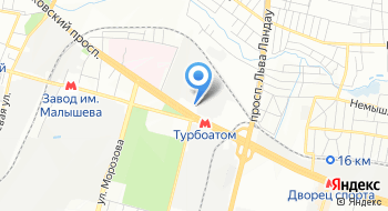 Представительство кирпичного завода Литос на карте