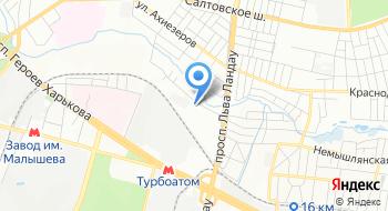 КП Харьковский метрополитен Подразделение на карте
