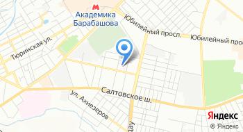 Харьковская Городская поликлиника №20, филиал на карте
