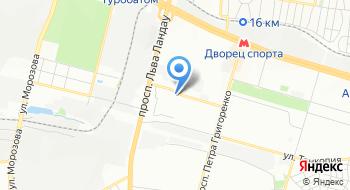 Автомойка Complex на Олимпийской на карте