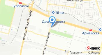 Харьковская городская стоматологическая поликлиника № 3 на карте