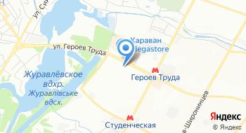 Магазин воды Кулиничи на карте