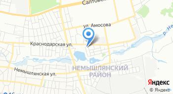 Харьковпрофбетон на карте
