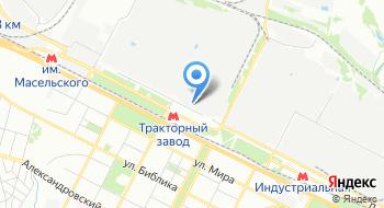 Медико-санитарная часть Харьковского тракторного завода на карте