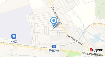 Общежитие Керчь на карте
