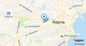 Керченский медицинский колледж им. Г.К. Петровой на карте
