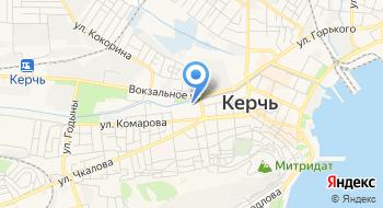 ГБУЗРК Керченская больница №1 имени Н.И. Пирогова на карте