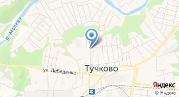 Тучковский учебный центр на карте