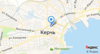 Памятники Керчь на карте