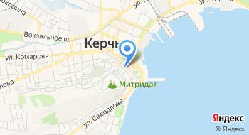 Крым Золото на карте