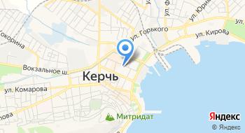 Керченский дворик на карте