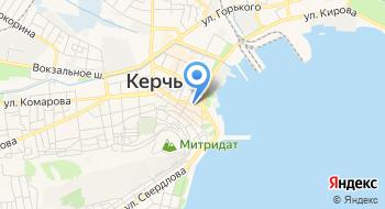 Севастопольский Морской банк, банкомат на карте