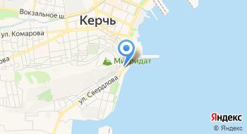 Керченский городской суд на карте
