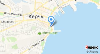 Отделение почтовой связи Керчь 298300 на карте