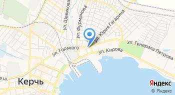 Керченский Дом Помощи для Лиц Без Определенного Места Жительства на карте