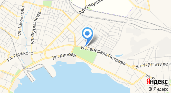 Массаж в Керчи на карте
