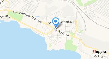 Отделение почтовой связи Керчь 298306 на карте