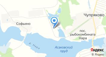 Племхоз Наро-Осановский на карте