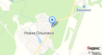 Загородный клуб Ольховка на карте