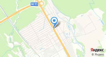 Мотюль Клин на карте