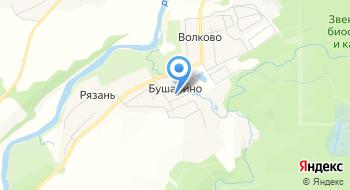 Коттедж Кристофф на карте