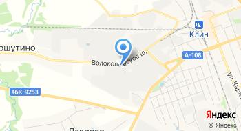 Клинская Продовольственная база на карте