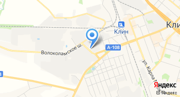 Клинмежрайгаз на карте