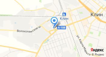 УГАДН по Московской области Федеральной службы по надзору в сфере транспорта, Клинский межрайонный отдел на карте