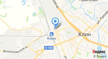 Автовокзал г. Клин на карте