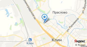 Завод елочных игрушек Елочка г. Клин на карте