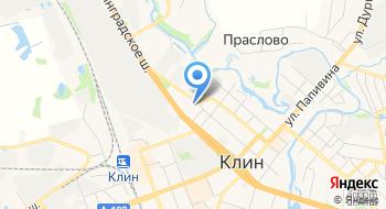 Клинская Станция скорой медицинской помощи г. Клин на карте