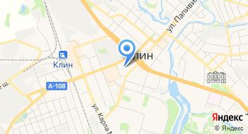 Московский Индустриальный банк, Дополнительный офис отделение в г. Клин на карте