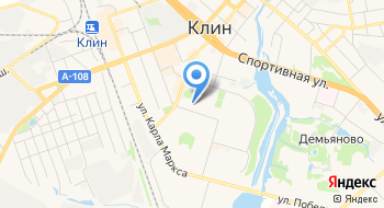 Клинская городская библиотека № 2 на карте