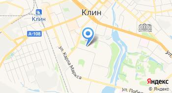 Г. Клин детский сад №8 Елочка на карте