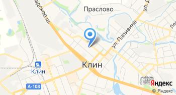 Г. Клин детский сад №4 Ручеек на карте