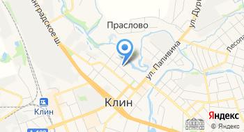 Детская Городская больница г. Клин на карте