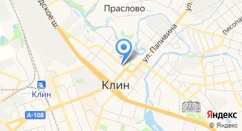 МО Клинская типография ГУП на карте