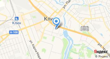 ПФР, Клиентская служба г. Клин и Клинский район на карте