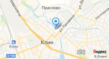 Воскресенский Храм г. Клин на карте