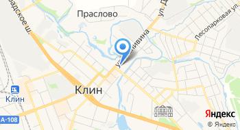 Московская Областная Организация ВОИ Клинская районная организация на карте