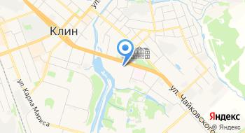 Городская больница г. Клин, Роддом на карте
