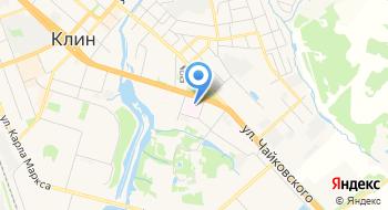 Клинский Дом-интернат для Престарелых и Инвалидов на карте