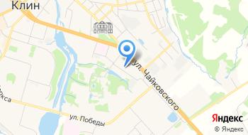 Клинская городская библиотека № 6 на карте