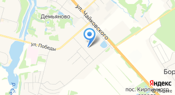 Г. Клин Гимназия №2 на карте