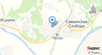 ДЮСШ Ершово на карте