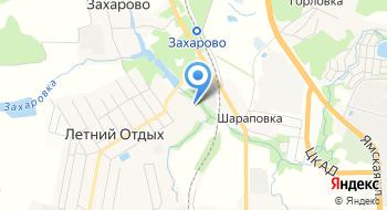 Захаровский дом культуры на карте