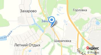 Борисовские мануфактуры на карте
